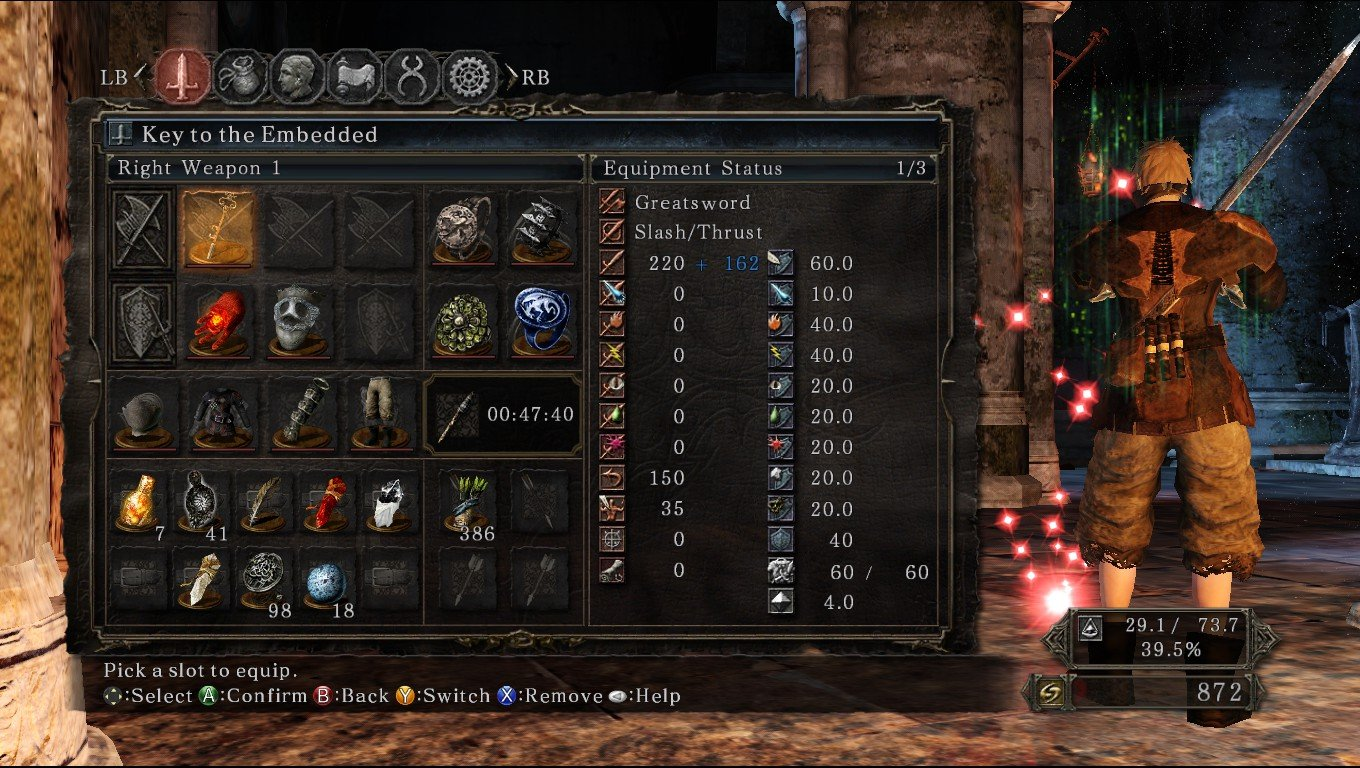 Dark Souls  Bleed Pve Build