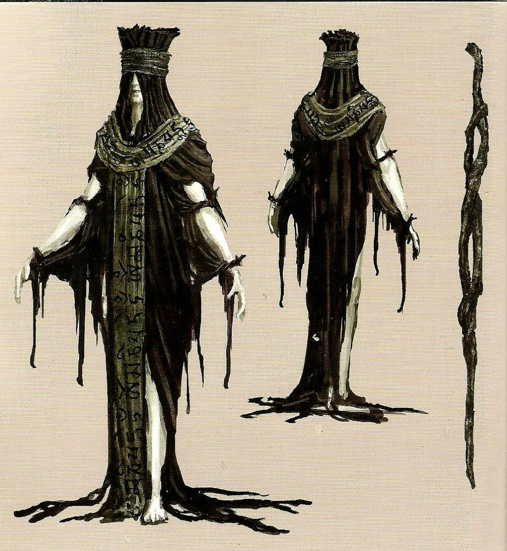 Black leather gloves dark souls - Armor