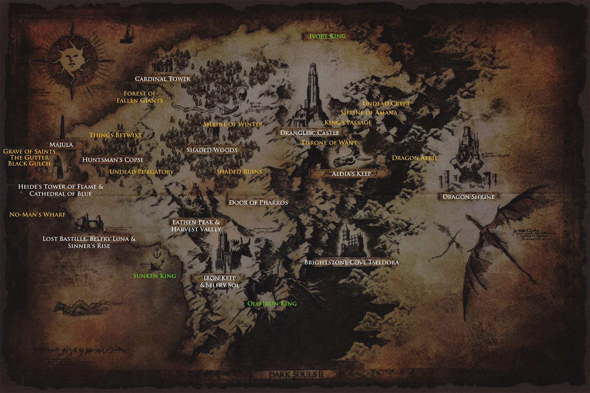 Maps | Dark Souls 2 Wiki